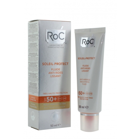 RoC Protect Smoothing Anti-Wrinkle Fluid SPF50-50ml