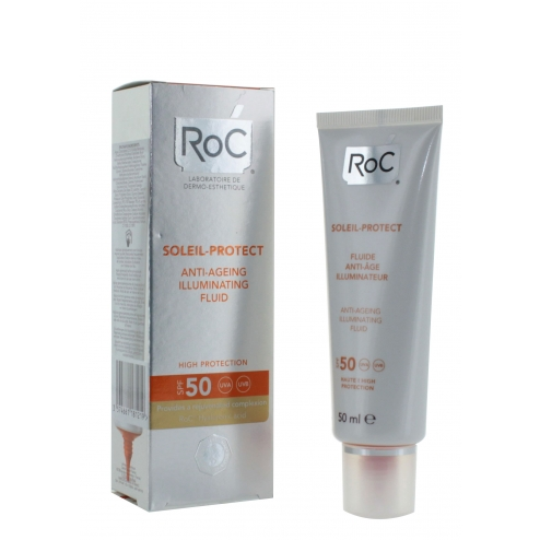 RoC Protect Anti-Aging Illuminating Fluid SPF50-50ml