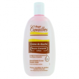 Roge Cavailles Shower Cream with Almond Butter and Rose-250ml
