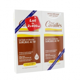 Roge Cavailles Bath and Shower Gel Sensitive Skins-2 x 400ml