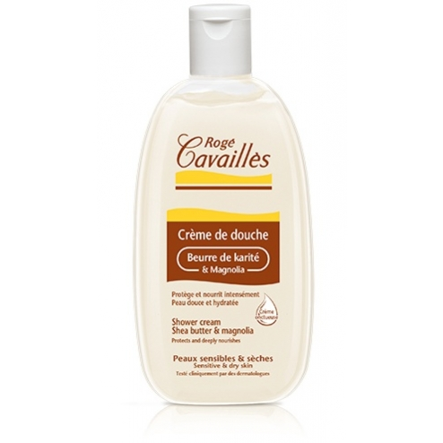 Roge Cavailles Shower Cream with Shea Butter and Magnolia-500ml
