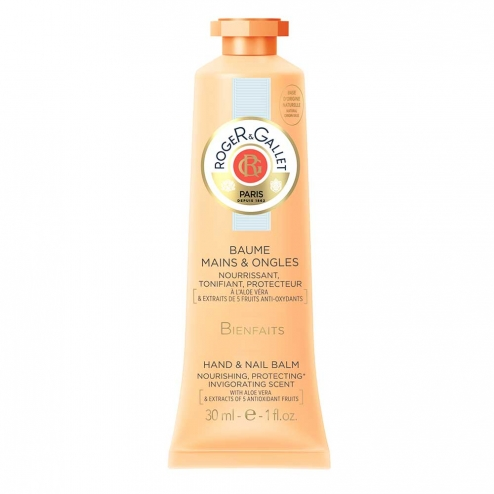 Roger & Gallet Bienfaits Hand and Nail Cream-30ml