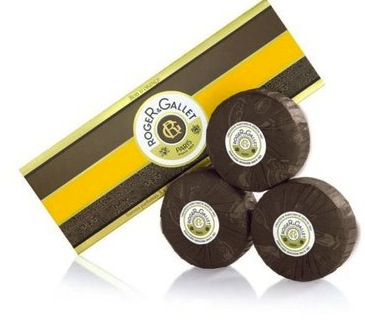 Roger & Gallet Orange Bark Soap Set - 3 x 100grams