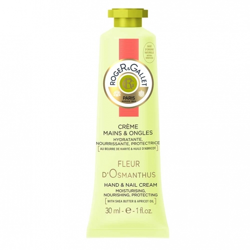 Roger & Gallet Osmanthus Flower Hand and Nail Cream-30ml