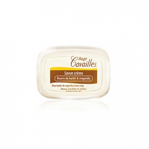 Roge Cavailles Soap-Shea Butter and Magnolia-115 Grams