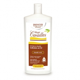 Roge Cavailles Bath & Shower Gel with Green Almond -1 Litre