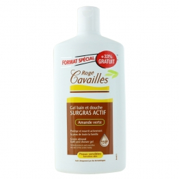 Roge Cavailles Bath & Shower Gel with Green Almond 400ml