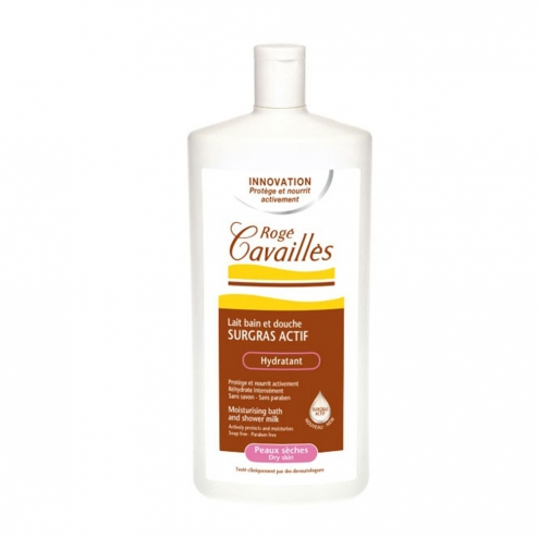 Roge Cavailles Bath & Shower Gel with Milk & Honey 300ml