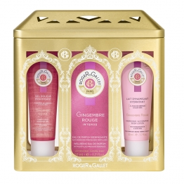 Roger & Gallet Gift Box- Red Ginger Fragrant Water 100ml, Body Lotion 50ml & Shower Gel 50ml