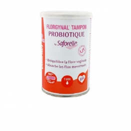 Saforelle Florgynal Probiotic Tampon Mini-9 Units