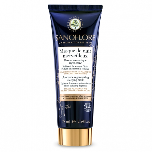 Sanoflore Night Mask Merveilleuse-75ml