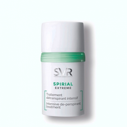 SVR Spirial Extreme Intensive Anti-Perspiration Deodorant Rollon - 20ml
