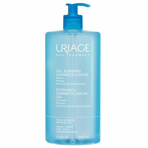 Uriage Ultra Rich Dermatologic Liquid-1 Litre