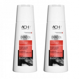 Vichy Dercos Energizing Shampoo with Aminexil - 2 x 200ml