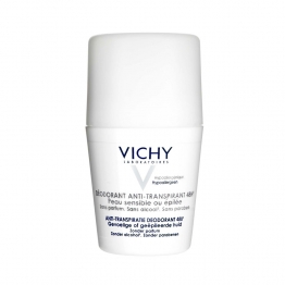 Vichy Deodorant Anti Perspiration Sensitive/Shaved Skins Rollon 50ml