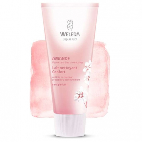 Weleda Almond Comfort Cleansing Milk-75ml