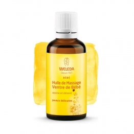 Weleda Baby Stomach Massage Oil with Calendula-50ml