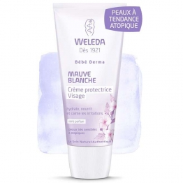 Weleda Babies Mauve Blanche Protective Face Cream -50ml